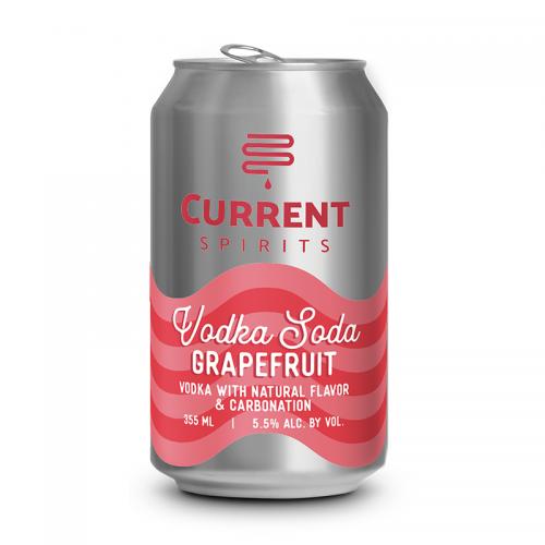 Vodka Soda Grapefruit