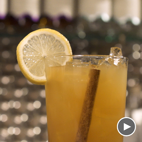 Cider Smash Cocktail